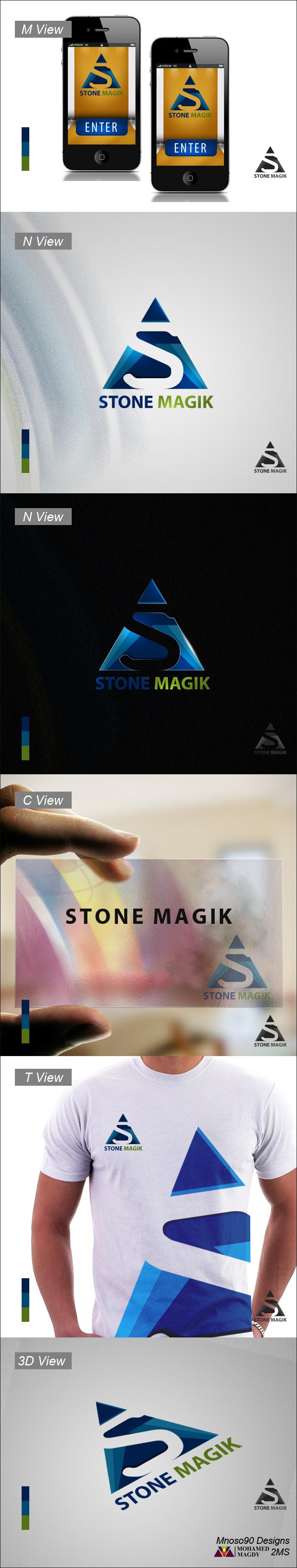 Stone magik logo by mnoso90