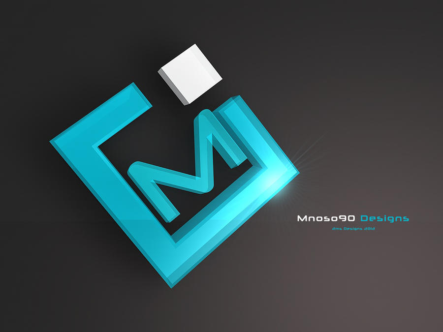 m 3d logo by mnoso90 on deviantart