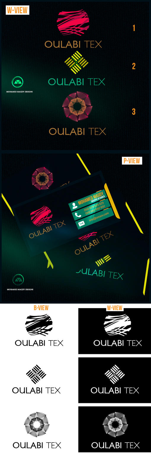 Oulabi Tex Logo by mnoso90