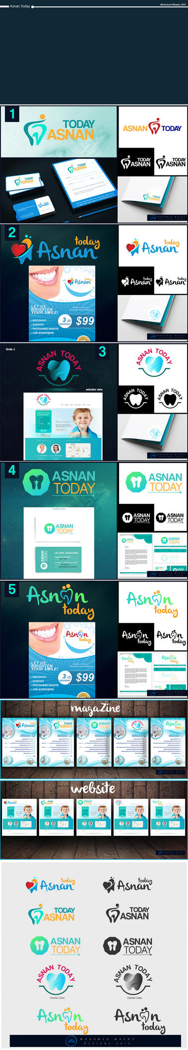 Asnan Today Logos by mnoso90