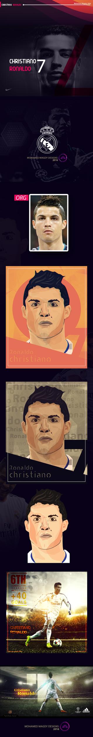 Cristiano Ronaldo 2015 by mnoso90