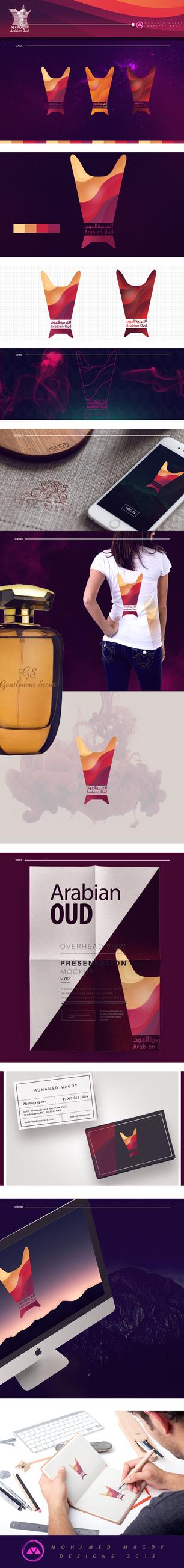 Arabian Oud Logo by mnoso90