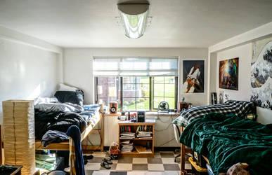 My Dorm Room by martiansummer