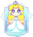 Princess Peach Bride