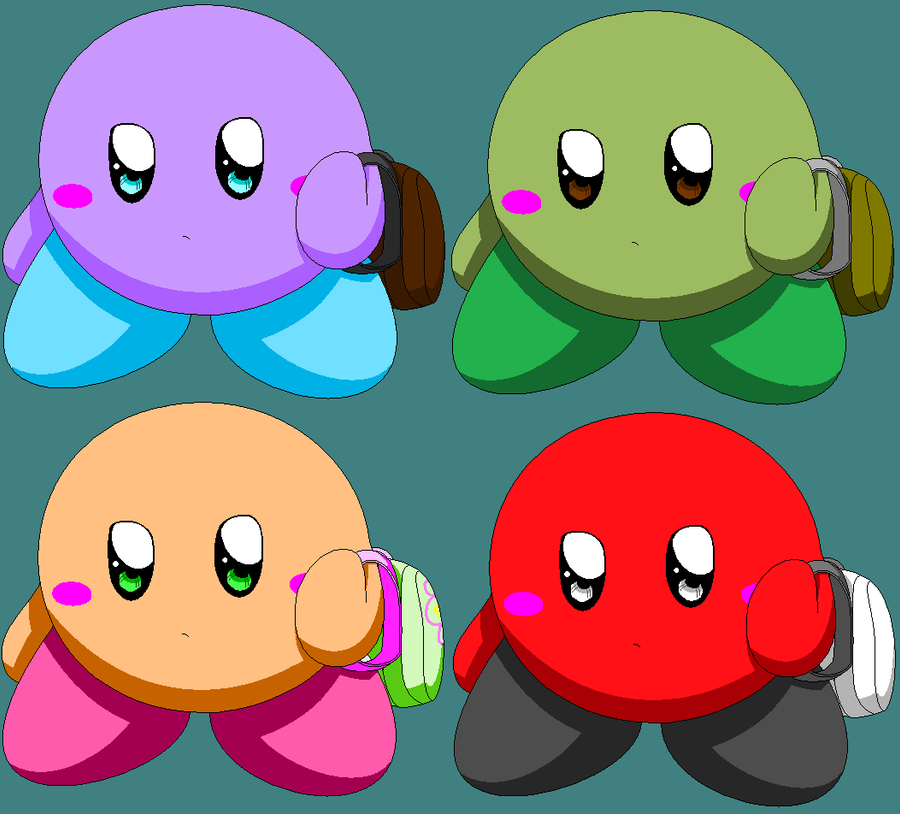 Cute Kirby Adopts 1 by MetasActReon on deviantART