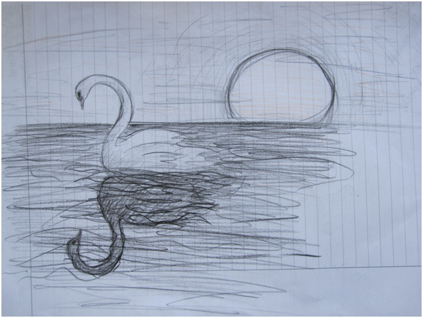 witte zwanen zwarte zwanen by Annemarie-I