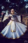 Magna Aegwynn Cosplay - Aegwynn's Grandeur by ZerinaX