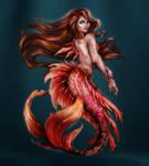 Mermaid ~ Red
