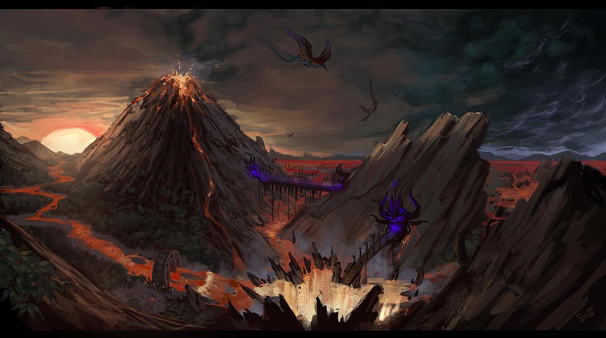 Highway to Hell by GisAlmeida on DeviantArt