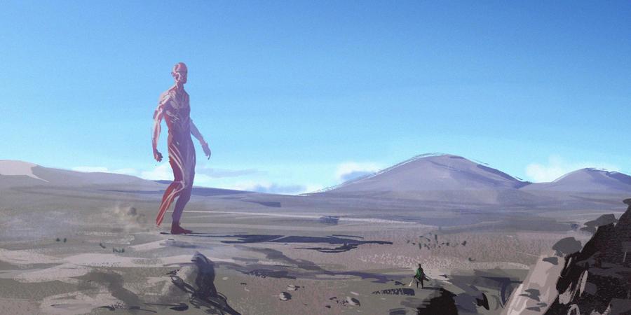 A WILD TITAN APPEARS by GisAlmeida