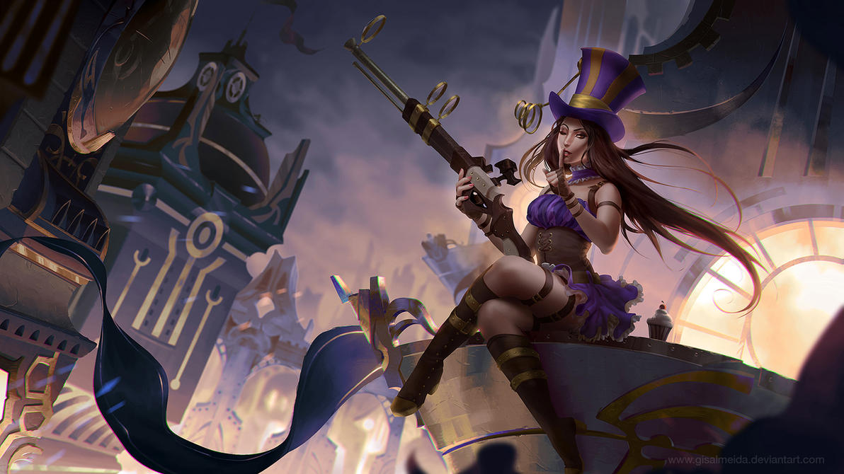 League of Legends: Caitlyn by GisAlmeida