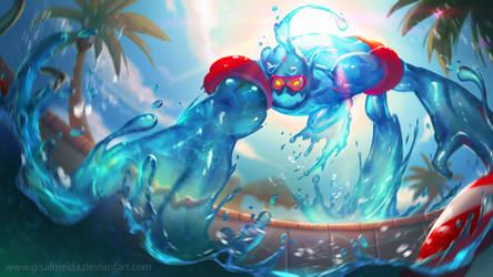 League of Legends: Pool Party Zac