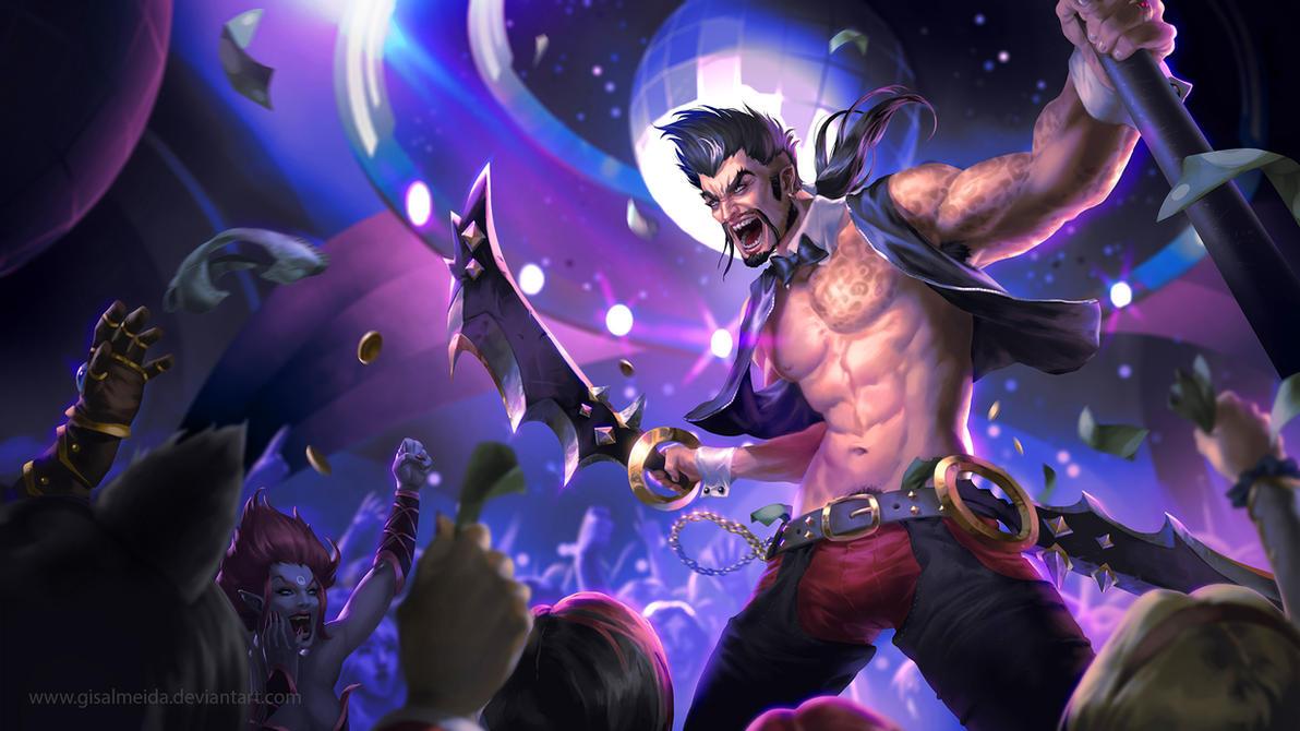 League of Legends: Go Go Draven by GisAlmeida