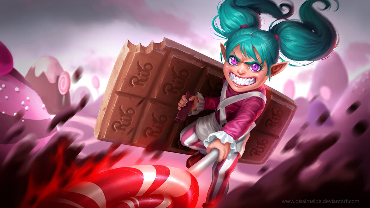 League Of Legends Poppy Wallpaper: League Of Legends: Lollipoppy By GisAlmeida On DeviantArt