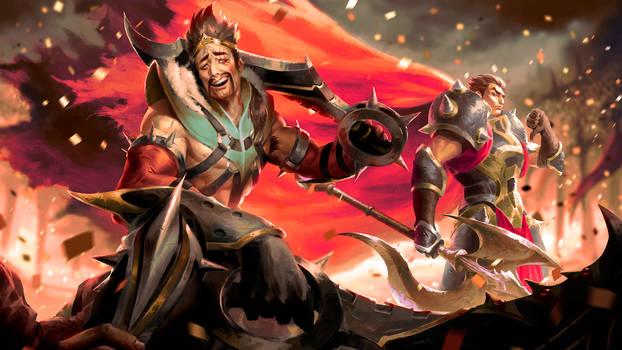 League of Legends: Noxus Bros by GisAlmeida