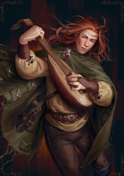 Kvothe - The Kingkiller Chronicles