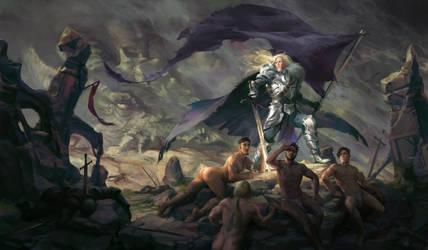 Almighty Lady of War by GisAlmeida