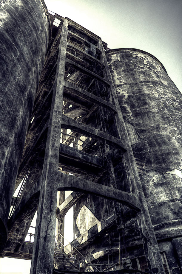 Chemical Plant Silo by Diesel74656