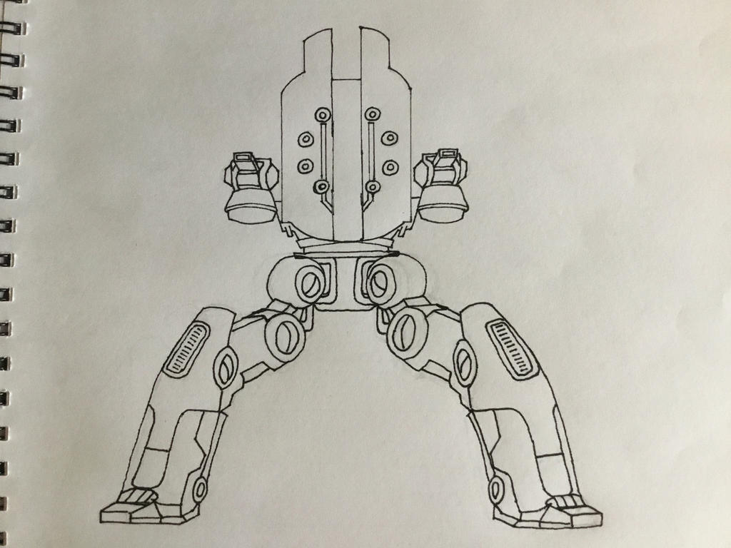 Raijin Drawing Walking War Robots By Vgb 305 On Deviantart