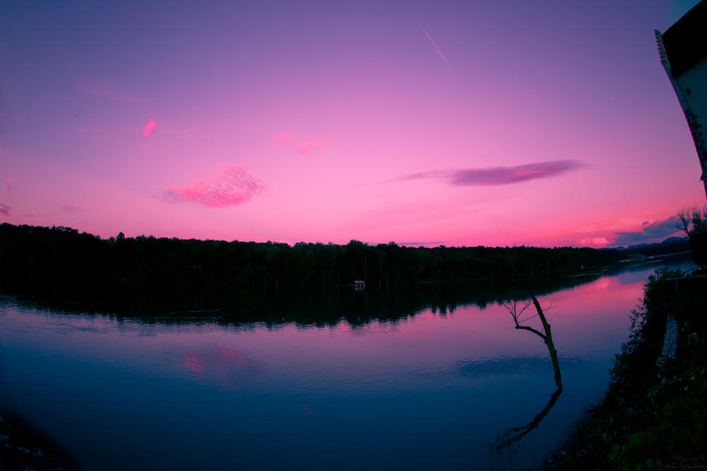 Waterscape Sunset by fti7