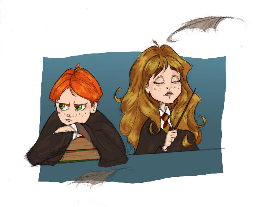 Winguardium Leviosa by Ninidu