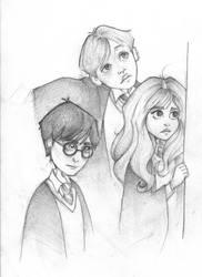 Trio Sketch by Ninidu