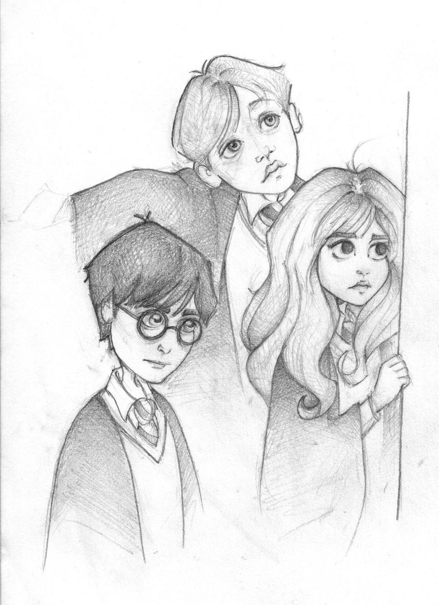 Trio Sketch by Ninidu