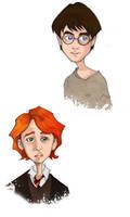 HP doodles