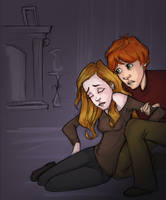 DH SPOILERS Malfoy Manor again by Ninidu