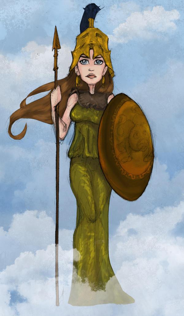 Athena by Ninidu