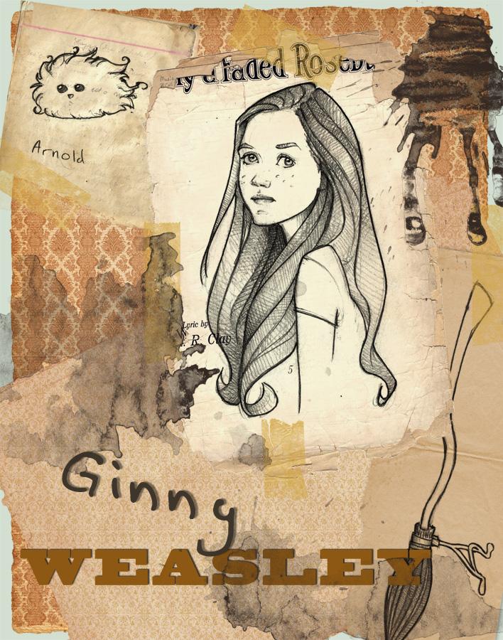 Ginny Weasley by Ninidu