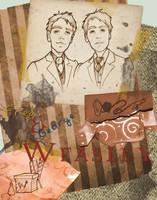 Fred and George Weasley by Ninidu