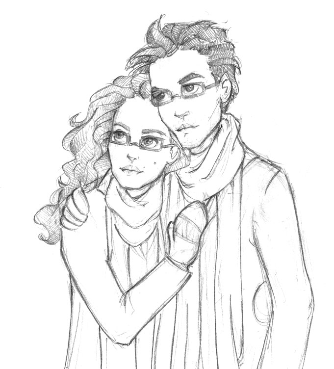 Marianna and Alexandros by Ninidu