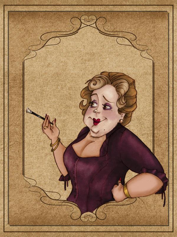 Madame Beatrice by Ninidu