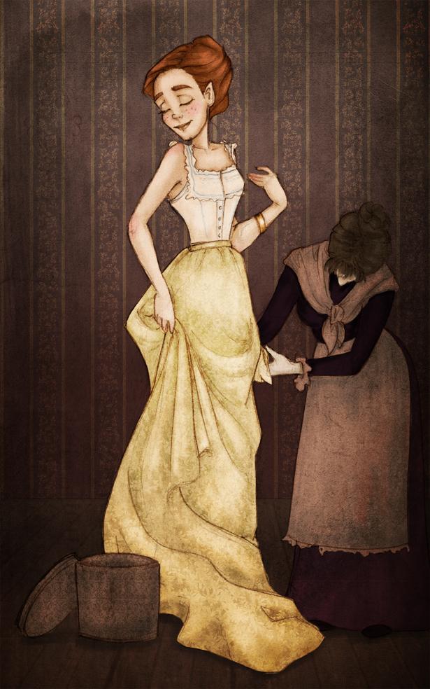 New dress by Ninidu