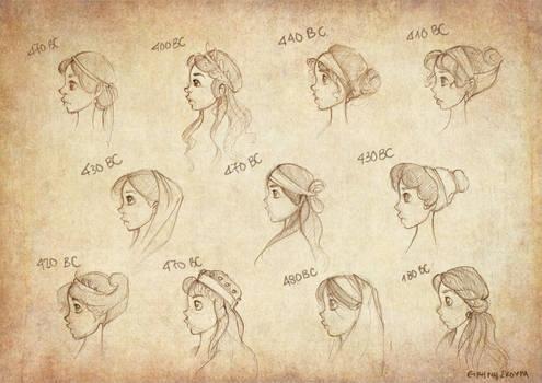Ancient Greek Hairstyles