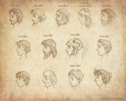 Ancient Greek Hairstyles_male