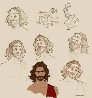 Zeus doodles