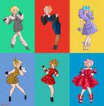 Effie Trinket Capitol Couture