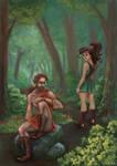 Mythology with a Twist: Meleager and Atalanta