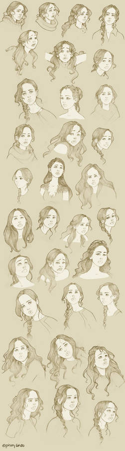 The many faces of Ms Everdeen