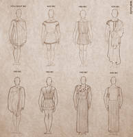 Ancient Greek Clothing for Men by Ninidu