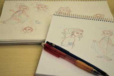 Sketching by Ninidu