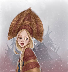 Winter is coming by Ninidu