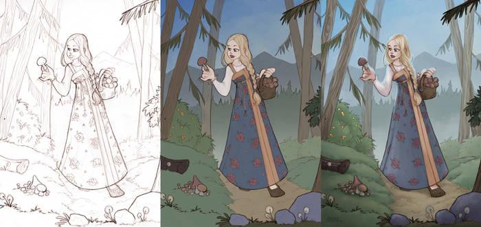 Russian Fairytale, steps