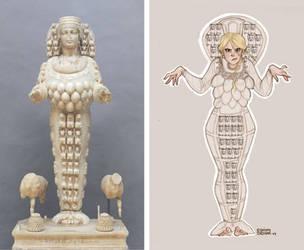 Artemis of Ephesus by Ninidu