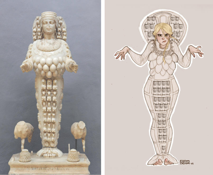 Artemis of Ephesus by Ninidu