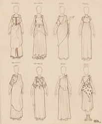 Ancient Greek Dresses Vol 2