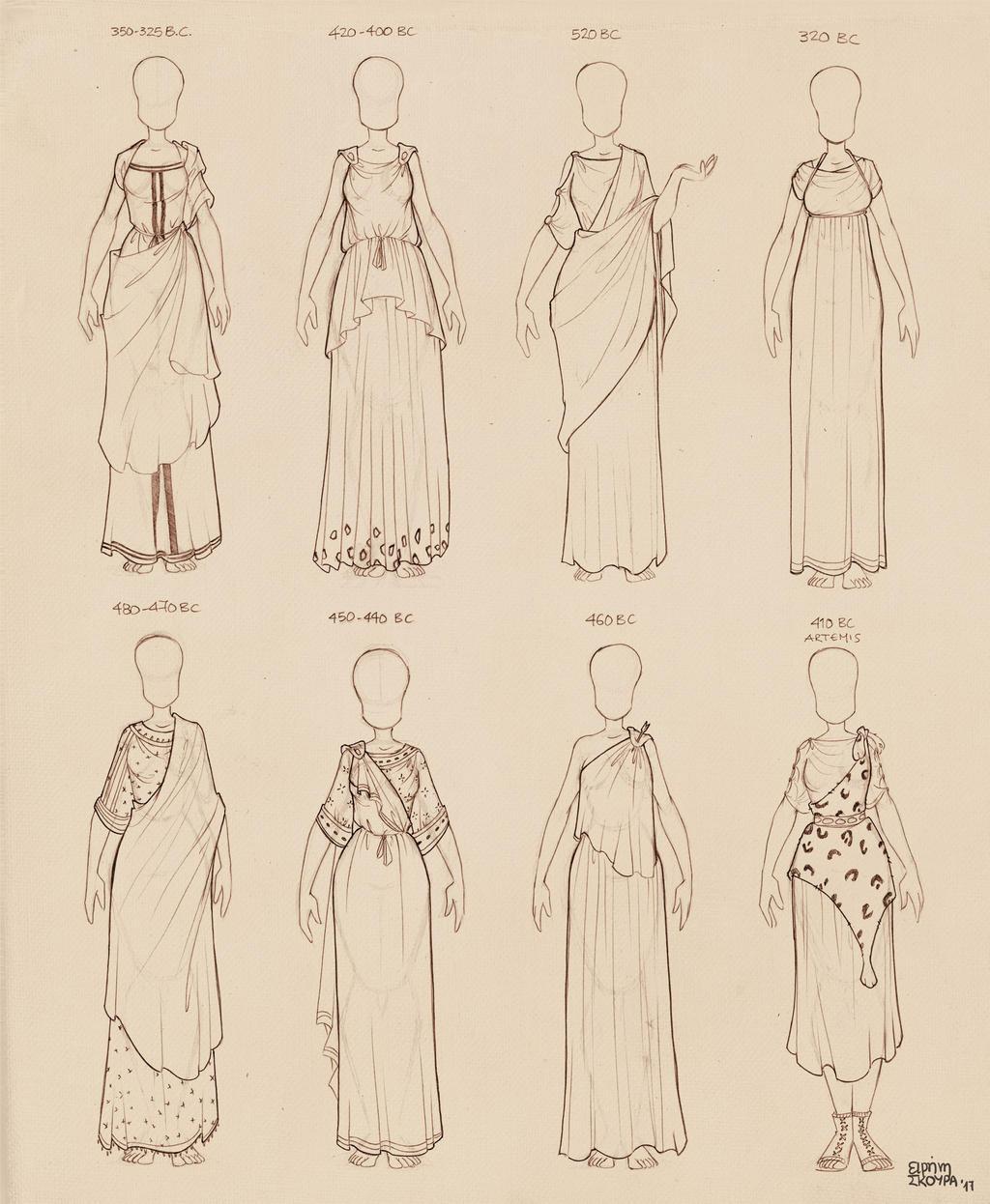 Ancient Greek Dresses Vol 2 by Ninidu