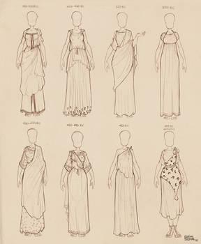Ancient Greek Dresses Vol 2